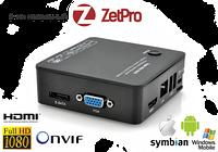 Мини сетевой 8-ми канальный ip  регистратор Mini NVR ZTP-MVR6208