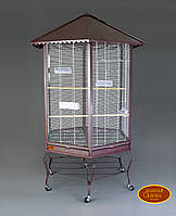 Вольер для малых и средних птиц 88(110)х88(110)х186 см