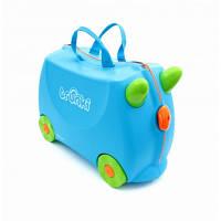Trunki Детский дорожный чемоданчик Terrace Blue 054