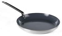 Сковорідка алюмінєва Kitchen Line с антипригарним покриттям Dyflon Hendi 627655 Ø400x(H)45 мм.