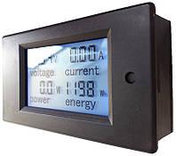 Ваттметр, Амперметр, вольтметр  PZEM-051 LCD DC 6,5V-100V / 0-100A