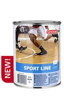 Synteko SPORT LINE - полуматовая краска для нанесения разметки на полах в спортивных залах