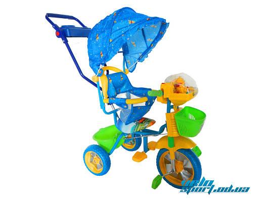 """Детский трехколесный велосипед Baby Club """"Winie the Pooh"""""""