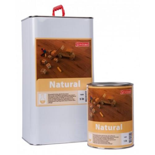 Synteko Natural 1л - экологичное масло для жилых и коммерческих помещений