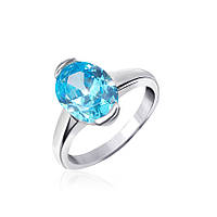 Серебряное кольцо с фианитом КК2ФТ/378 - 19,0