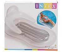 Intex 58857 надувной матрас со спинкой