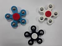 Игрушка-тренажер - спиннер, цветочек вращающаяся на подшипнике (антистрессовая) Hand spinner