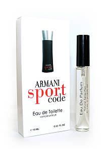 Мужской мини-парфюм с феромонами  Giorgio Armani Armani Sport Code (Армани Спорт Код),10 мл