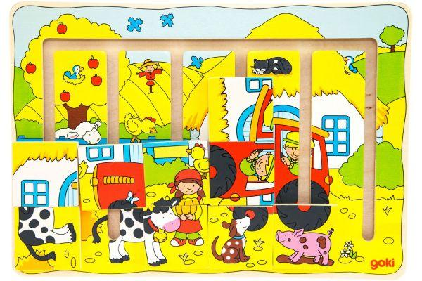 Goki Развивающая игра Наша ферма 57596
