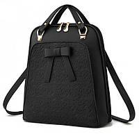 Рюкзак сумка с бантиком