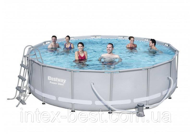 Каркасный бассейн Bestway 56641 (427 x 107 см.)