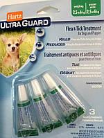 ХАРТС СПОТ ОН  для щенков и собак 2 - 7кг(1 упаковка) от блох, клещей, комаров
