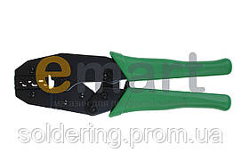 Клещи Hanlong НТ-236С для обжима неизолированных наконечников
