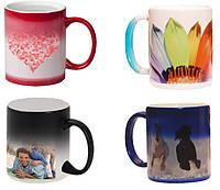 Чашка с Вашим дизайном керамическая со сменой цвета ( Хамелеон)