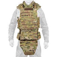 Боевой костюм Plastoon Level 4 с баллистическим матом, защитой паха, живота и шеи