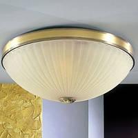 Потолочный светильник RECCAGNI ANGELO PL 3061/4 бронза/желтый