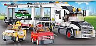 Игровой конструктор грузовик автовоз Sluban