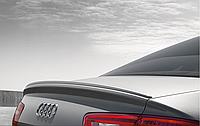 Спойлер на крышку багажника S6 для Audi A6 C7 Новый Оригинальный