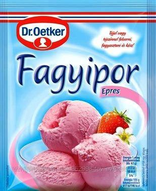 Порошок для приготовления  мороженного  Dr. Oetker Epres 60г