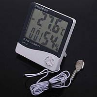 Метеостанция Термометр Гигрометр выносной датчик HTC-2