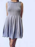 Платье-колокольчик Ohaina  цвет сталь, фото 1