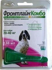 Фронтлайн КОМБО капли для собак 20-40 кг