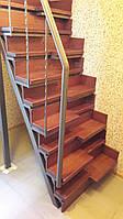 """Лестница """"гусиный шаг"""" для коттеджей"""