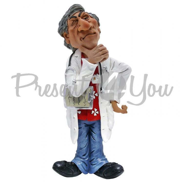 Фигурка «Врач» лучший подарок медику  h-26 см.