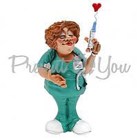 Фигурка «Медсестра» лучший подарок медику h-18 см.