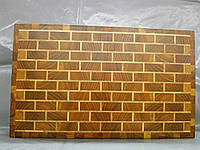 Доска торцевая кухонная 400х240х35