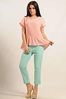 Блуза Бейлиз Ри Мари розовый 100% хлопок