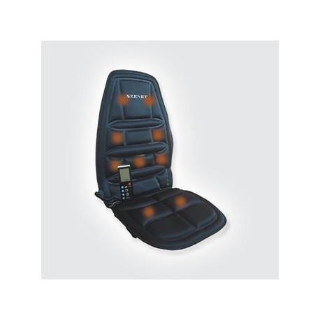 Массажная накидка ZET-771 на сиденье с 8ю разновидностями массажа.