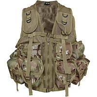 Разгрузочный жилет Waistcoat mens (general purpose) Multicam.НОВЫЙ. Mil-tec, Германия