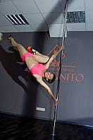 Комплект женский для Pole dance коралл Zevana Canary+Jaguar