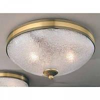 Потолочный светильник RECCAGNI ANGELO PL 4600/2 бронза/белый