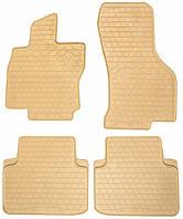 Резиновые коврики для Volkswagen Passat B8 2015- (STINGRAY)