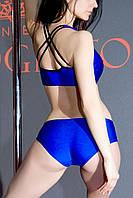 Комплект женский для Pole dance синий Zevana Spider+Jaguar