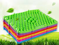 Массажный (ортопедический) коврик-пазл CS-4601-G зеленый