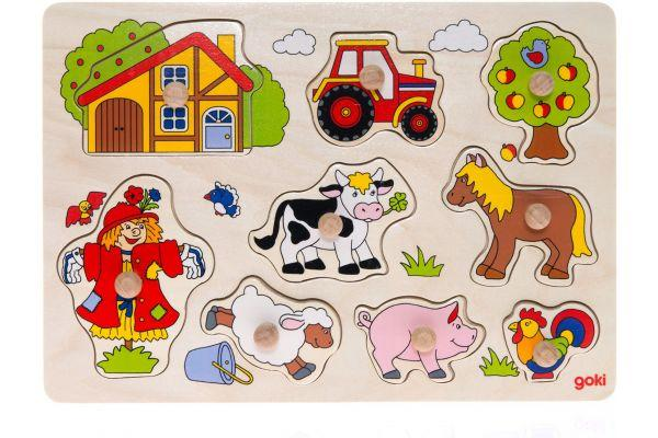 Goki Развивающая игра Ферма 57995