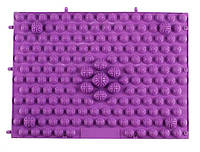 Массажный (ортопедический) коврик-пазл CS-4601-V фиолетовый