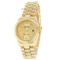 Часы Rolex Datejust Quartz All Gold