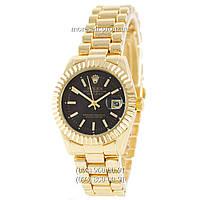Часы Rolex Datejust Quartz Gold-Black