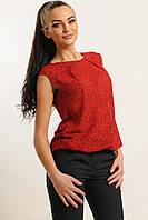 Блуза Китти Ри Мари красный конфетти