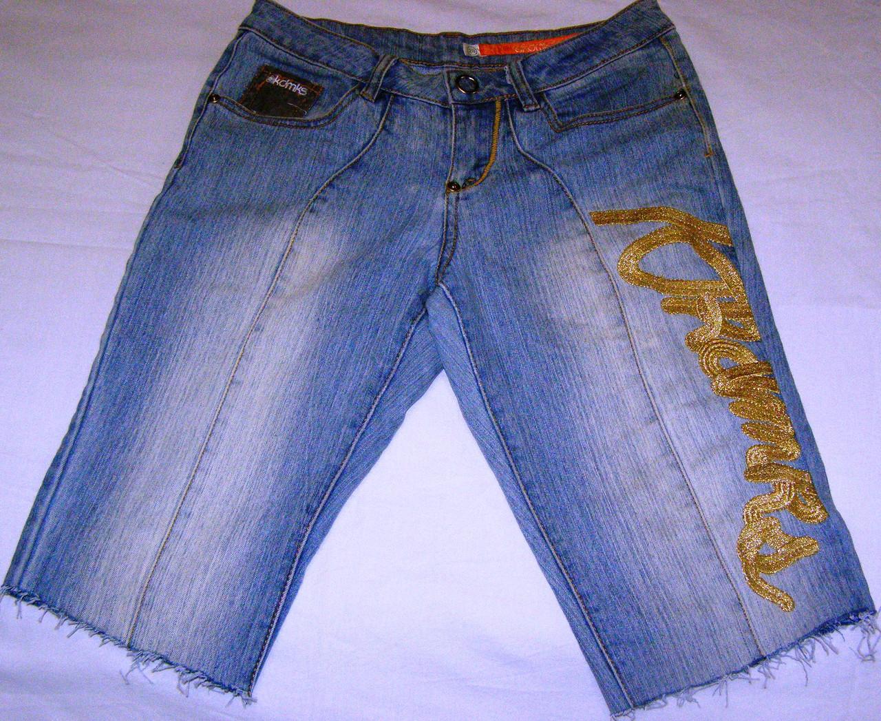 Бриджи джинсовые OKAMKS