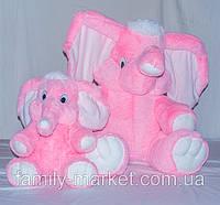 """Мягкая игрушка """"Плюшевый слоник"""" 65 см"""