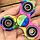 Спиннер игрушка-антистресс Ромб с подшипниками (hand fidget spinner), вертушка для рук, спинер, спиннеры, фото 5