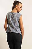Блуза Китти Ри Мари синий, фото 4