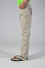 Летние льняные брюки подростковые, фото 2