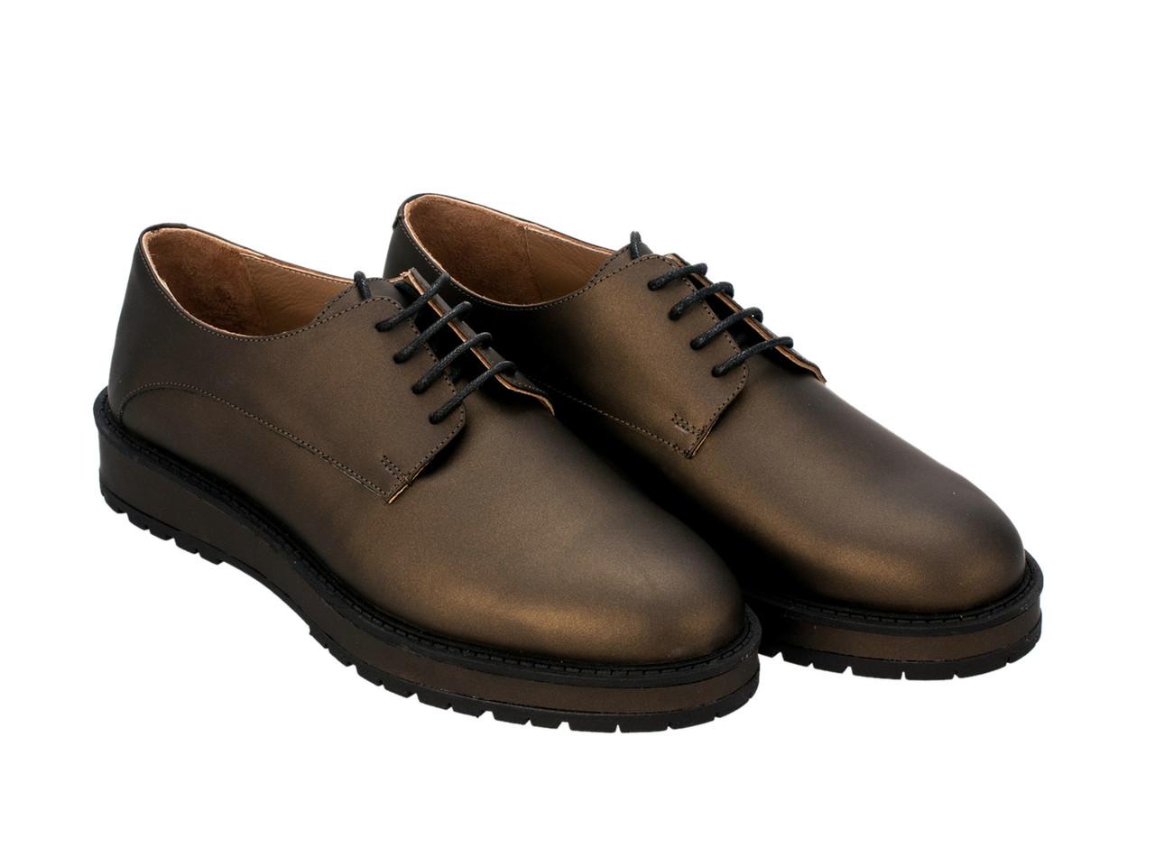Туфли Etor 5961-3274-05 37 зеленые