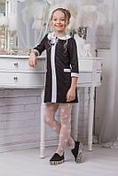 Изумительное школьное платье для девочки модель sh13